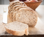 Mixed Seed Wholemeal Bread Recipe (High-Fibre Food)