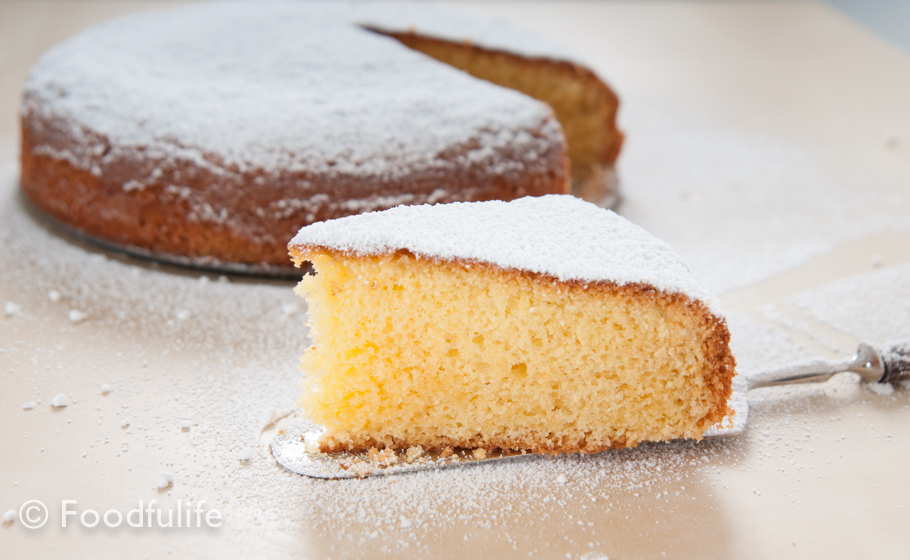 Genoa Sponge Cake Recipe