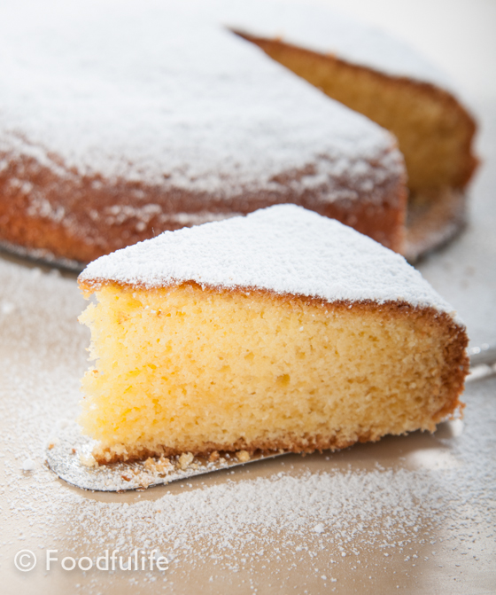 Torta Paradiso (Heaven cake)