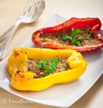 Traditional Recipe: Baked Peppers Au Gratin