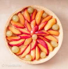 Cooking Method: Shortcrust Pastry Tart Case (top view)