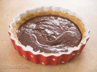 Dark Chocolate And Marrons Glacés Tart