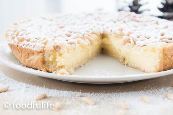 Torta della nonna (grandma's cake)