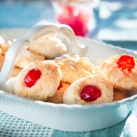 Traditional Recipe: Sicilian Almond Biscuits With Candied Cherries (Pasticcini Alle Mandorle)