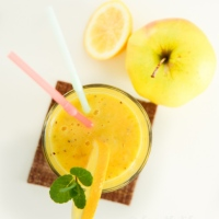 Quick And Easy: Mango And Apple Smoothie