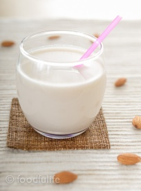 How to make almond milk, foodfulife.com