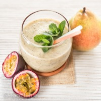 Pear And Passion Fruit Smoothie