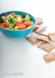 Whole spelt and oat crackers-10