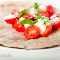 Whole Spelt Piadina (Italian flatbread)