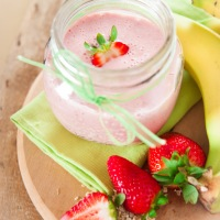 Quick And Easy: Strawberry And Banana Smoothie