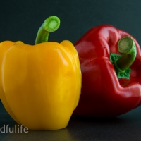 A Picture A Day : Yellow And Red Peppers