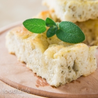 Genoese Sage Focaccia! (more a tutorial than a recipe)