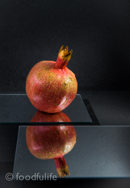 Pomegranate with mirrors