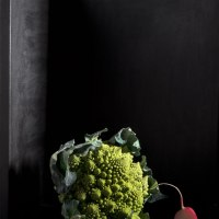Roman Cauliflower With Radishes